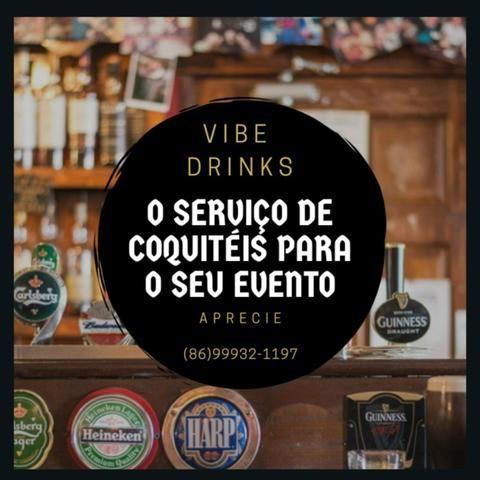 Drinks e coquetéis R$ 300,00