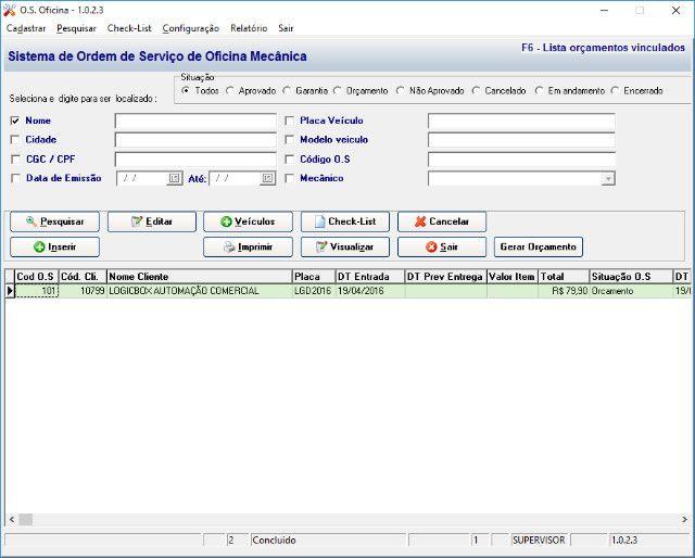 Sistema_oficina_mecanica p/ notebooks