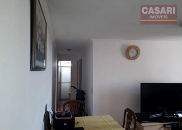 Apartamento com 2 dormitórios à venda, 55 m² - jardim irajá - são bernardo do campo/sp - Foto 4