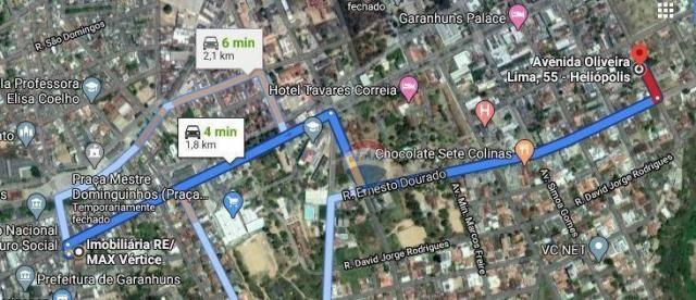 Terreno à venda, 282 m² por R$ 265.000 - Heliópolis - Garanhuns/PE - Foto 2