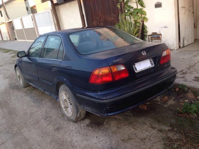 Honda Civic 2000 venda ou troca - Foto 3