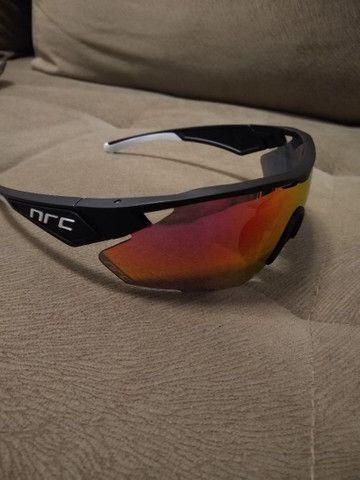 Óculos Ciclismo lente Polarizada - Foto 3