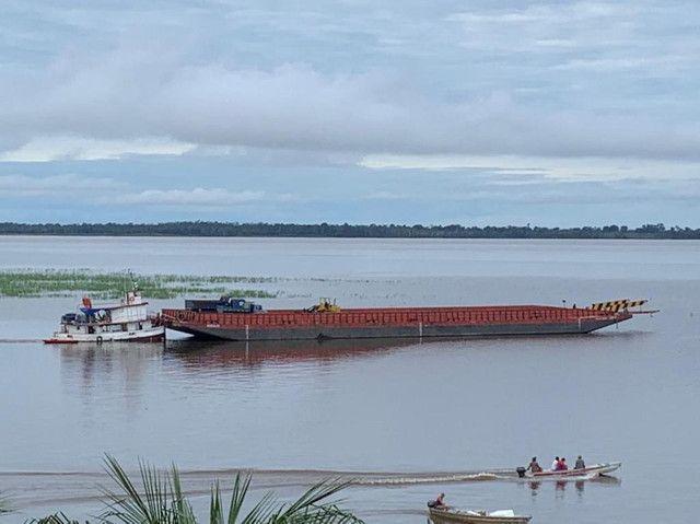 Transporte de carga com balsa e Empurrador  - Foto 4