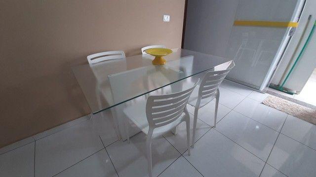 Mesa com 4 cadeiras - Foto 4