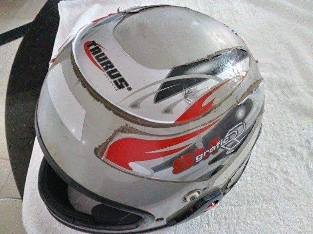 Vendo capacete sam marino - Foto 4