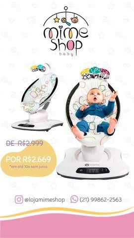Promoção - Cadeira Nova Mamaroo Plush Colorida 4 MOMS