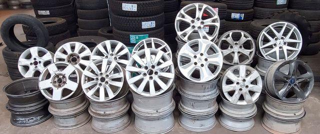 Rodas de alumínio usadas  - Foto 2