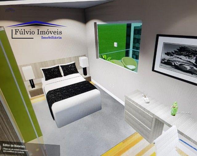 Esplendido apartamento com elevador, excelente condomínio, fino acabamento com porcelanato - Foto 5