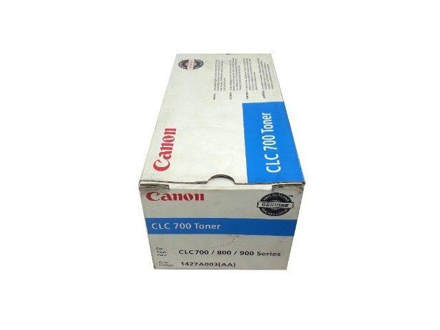Toner Canon CLC700 / 1427A003AA Cyan Original Novo - Foto 3