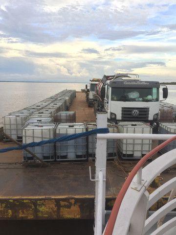 Transporte de carga com balsa e Empurrador  - Foto 3