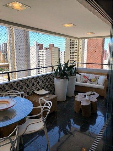 Apartamento à venda com 3 dormitórios em Meireles, Fortaleza cod:REO371194 - Foto 4