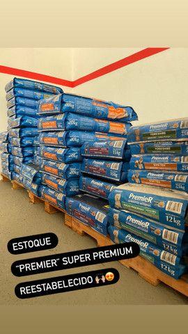 Ração PREMIER Super Premium, todos os portes.