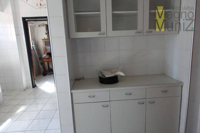 Apartamento com 3 dormitórios para alugar, 114 m² por r$ 800,00/mês - fátima - fortaleza/c - Foto 13
