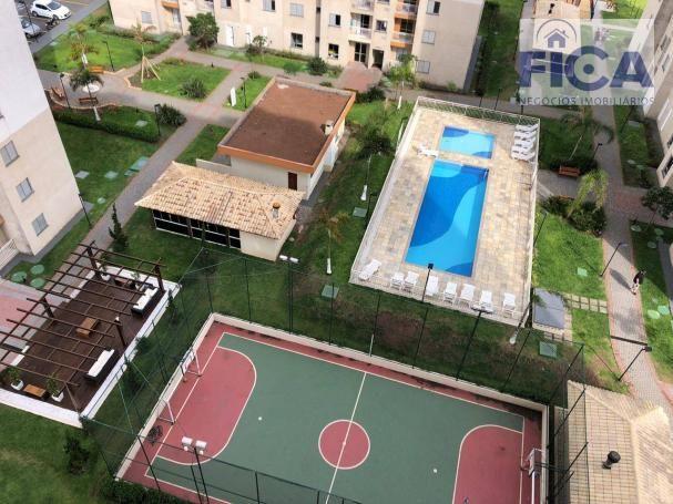 Vende/aluga apartamento ed. allegro (58m² privativos) com 2 quartos/1 bwc/1 vaga no bairro