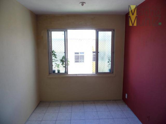Edifício villagio água fria - apartamento para alugar no edson queiroz, fortaleza - ap0069 - Foto 2