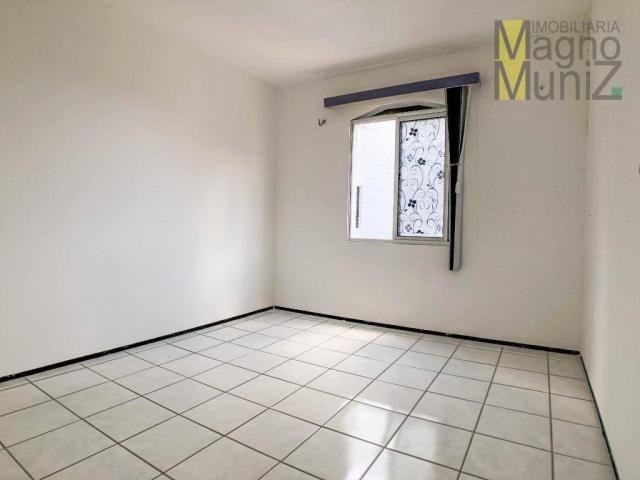 Apartamento com 3 dormitórios para alugar, 80 m² por r$ 1.000,00/mês - varjota - fortaleza - Foto 4