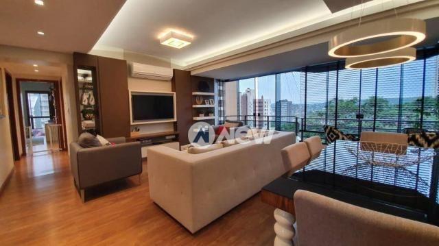 Apartamento com 3 dormitórios à venda, 129 m² por r$ 750.000,00 - centro - novo hamburgo/r - Foto 4
