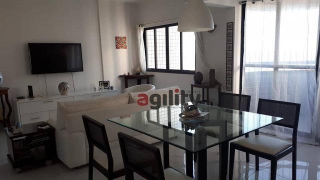 Apartamento com 2 dormitórios à venda, 114 m² por r$ 550.000,00 - capim macio - natal/rn - Foto 3