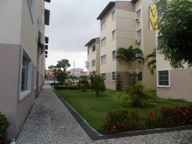 Apartamento com 2 dormitórios para alugar, 50 m² por r$ 500,00/mês - itaperi - fortaleza/c