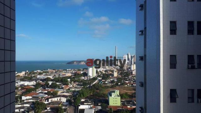 Apartamento com 2 dormitórios à venda, 114 m² por r$ 550.000,00 - capim macio - natal/rn