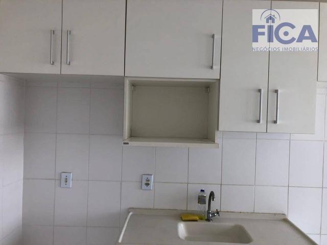 Vende/aluga apartamento ed. allegro (58m² privativos) com 2 quartos/1 bwc/1 vaga no bairro - Foto 7
