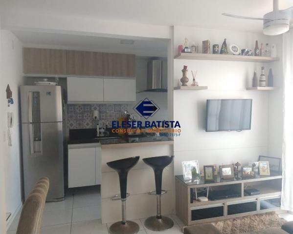 Apartamento à venda com 2 dormitórios em Villaggio laranjeiras, Serra cod:AP00077