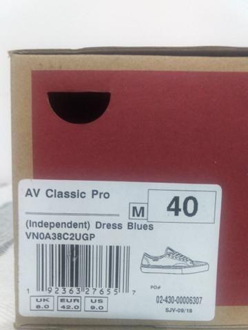 a47627de25c Tenis Vans AV Classic Pro x Independent - Roupas e calçados ...