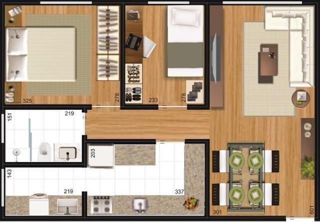 Apartamento à venda, 68 m² por r$ 225.000,00 - ecoville - curitiba/pr - Foto 9