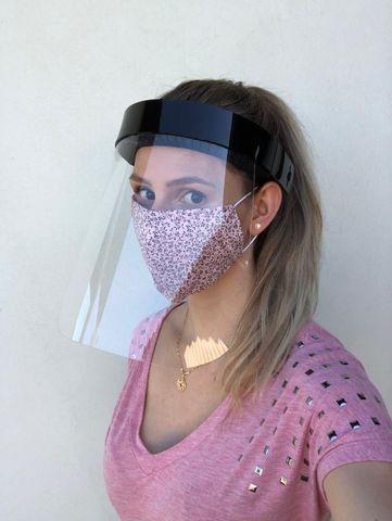 Máscaras de proteção acrílica tipo Face Shield - Foto 4