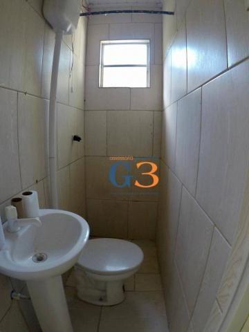 Casa com 1 dormitório para alugar, 30 m² por R$ 450/mês - Centro - Rio Grande/RS - Foto 4