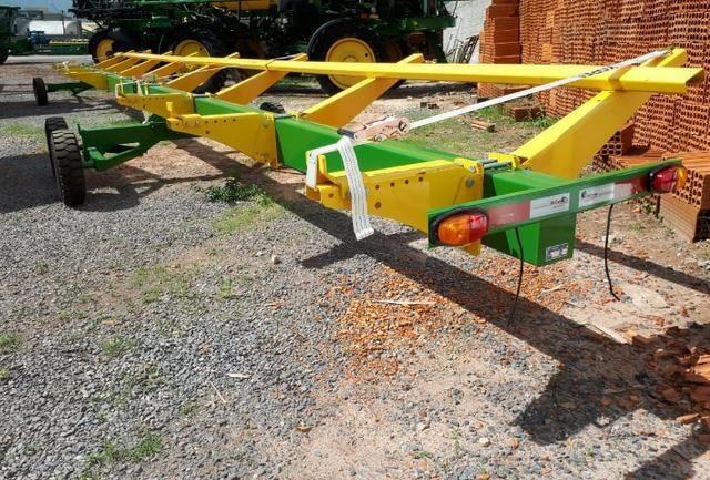 Carreta transporte de plataforma - Rodma - 40 pés - Foto 2