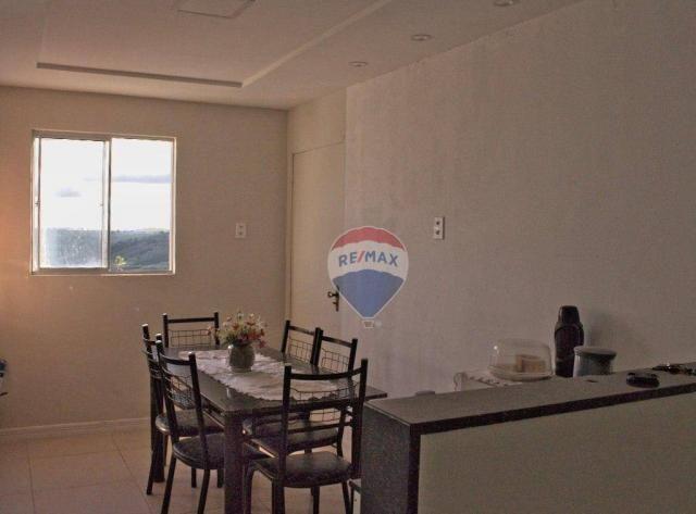 Apartamento com 3 dormitórios à venda, 110 m² por R$ 260.000 - Santo Antônio - Garanhuns/P - Foto 6