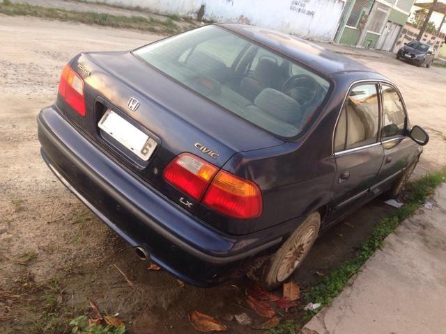 Honda Civic 2000 venda ou troca - Foto 6