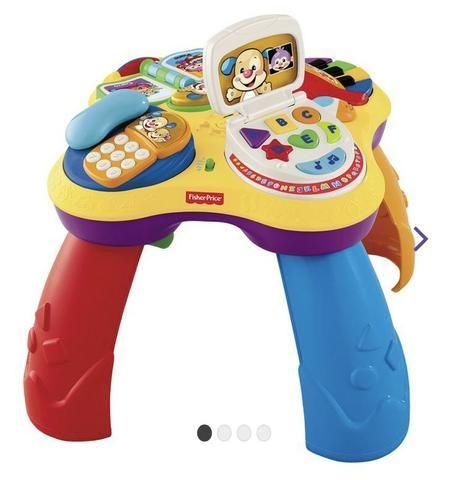 Mesa de Atividades Bilíngue do Cachorrinho - Fisher-Price e dois brinquedos importados - Foto 4