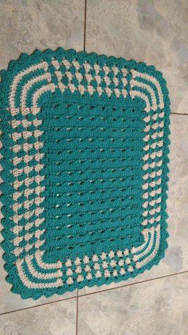 Tapetes em crochê  - Foto 2