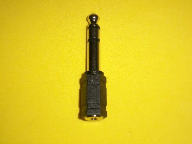 Adaptador P10 macho estéreo X P2 estéreo fêmea - Foto 2