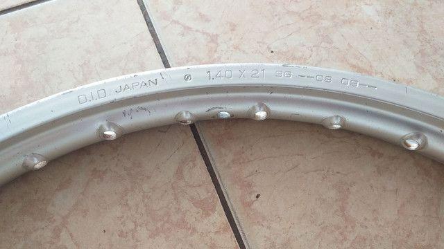 Roda diant. DID JAPAN 1.40x21 - Foto 3