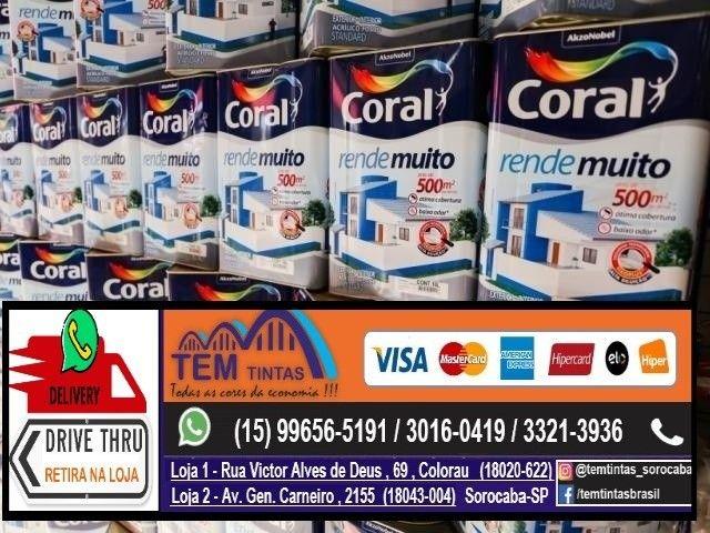 __.Promoção Tinta Coral 18 Litros / 3,6 Litros / Enjoy !