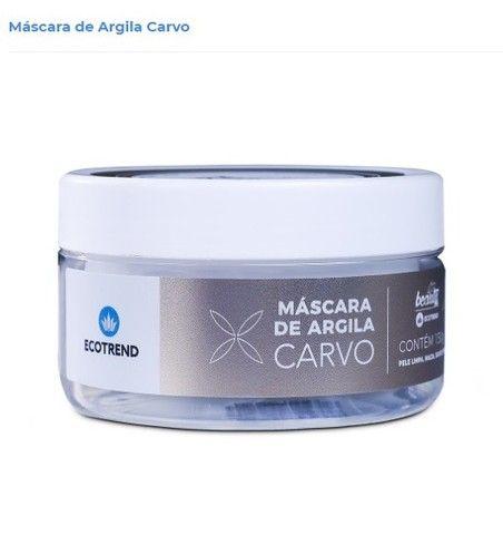 Mascara de Argila Carvo - Limpa e Hidrata á sua pele