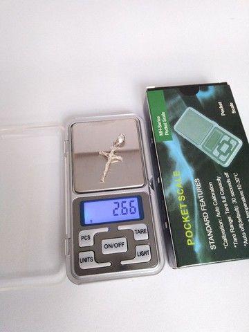 Balança Digital de precisão pesa 0.01g até 500g - Foto 2