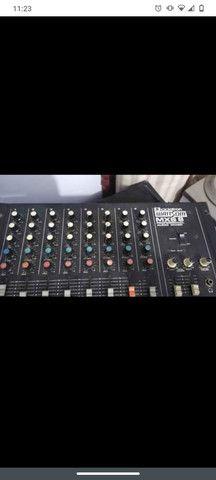 Mesa de som Watson 8 canais