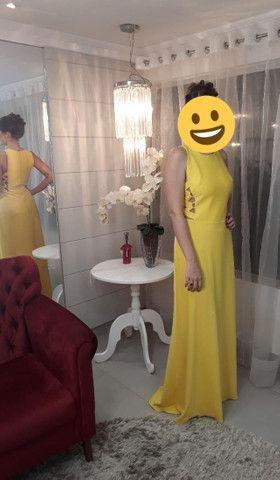 Vestido Longo Amarelo - Foto 2