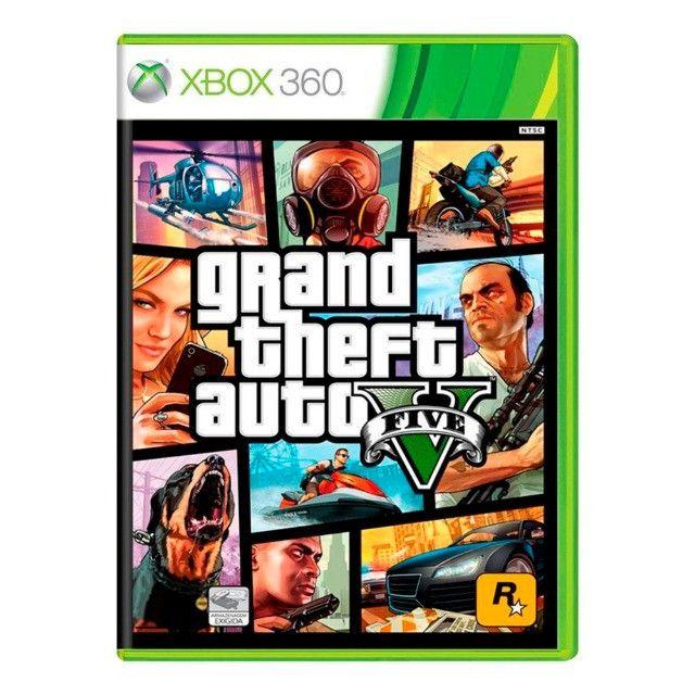Jogo Grand Theft Auto V - GTA 5 - Xbox 360 Mídia Física - Original - Lacrado