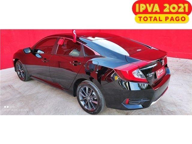Honda Civic 2.0 FlexOne EX AT *Impecável* IPVA 2021 Total pago - Foto 5