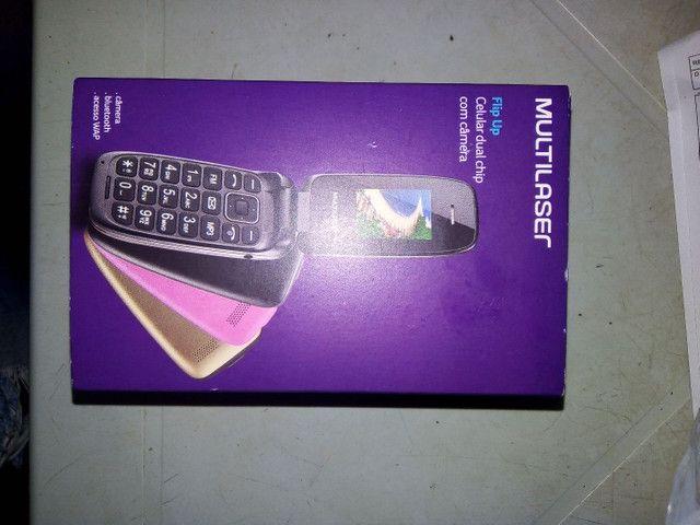 Vendo esse celular flip novo na caixa 140,00 - Foto 3