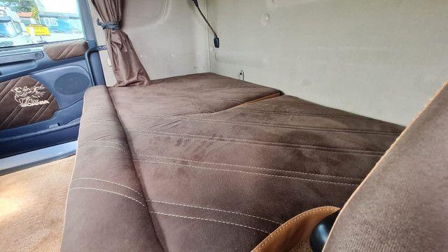 Scania 124 G 400 ano 2013 Trucado 6x2 com ar cond Unico Dono Lindo - Foto 11