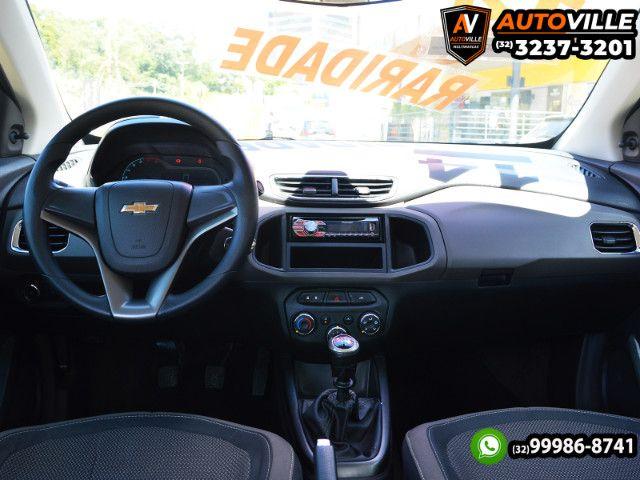 Chevrolet Prisma LT 1.0 Flex Completo*Rodas de Liga Leve*Motor 80CV - 2014 - Foto 9