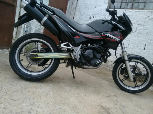 NX FALCON 01/02 CARENAGENS 2008 RODAS MOTARD
