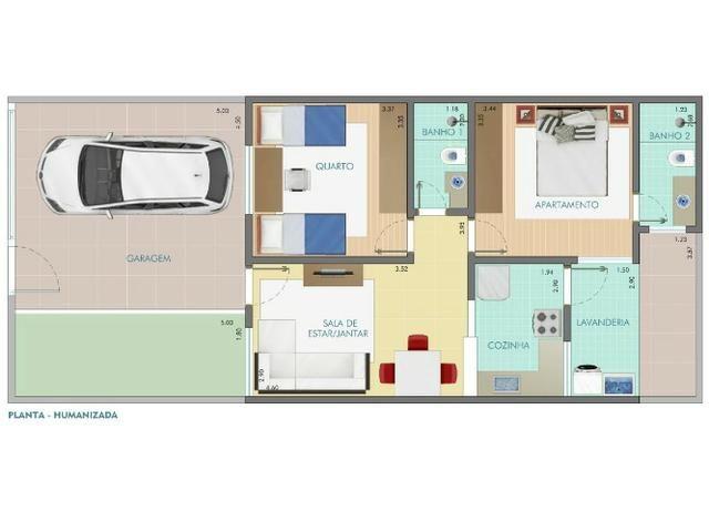 Casa com 2 quartos no Bairro Jardim das Perdizes