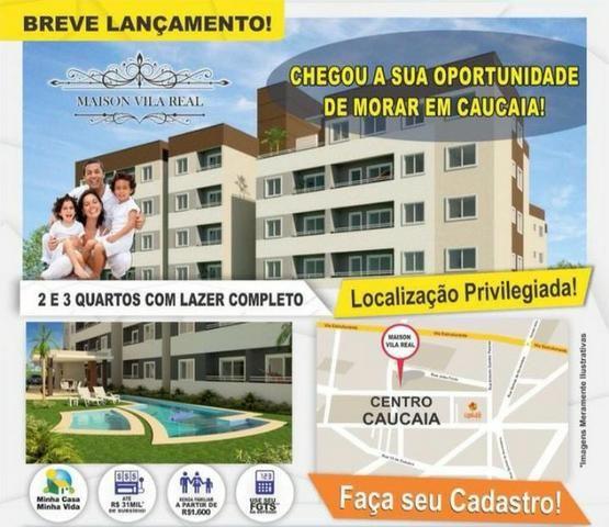 Lançamento_ Apartamento centro de Caucaia!!